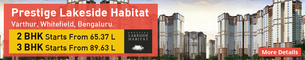 Prestige Lake Side Habitat | Prestige Lake Side Habitat Bangalore