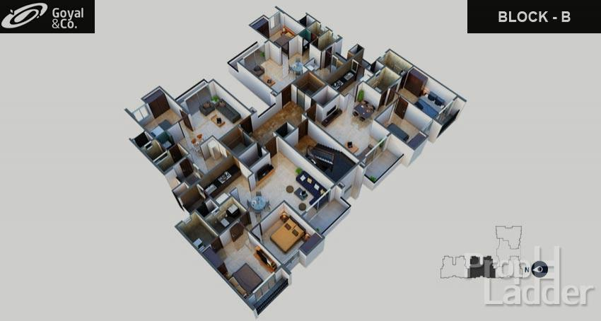Typical floor plan-B