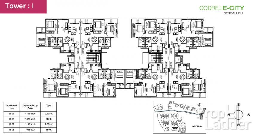 typical floor plan-I