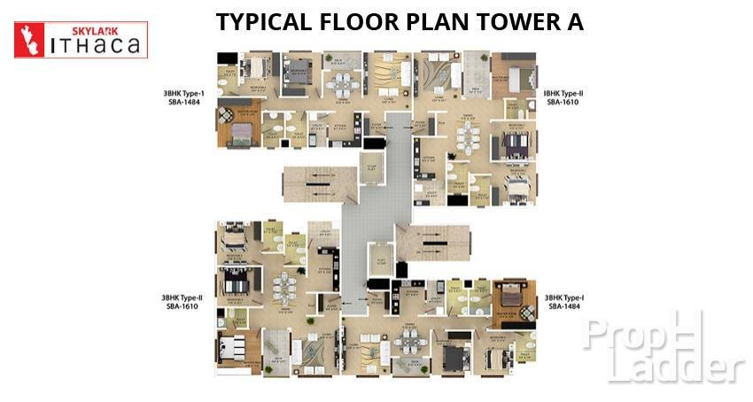 TYPICAL-FLOOR-PLAN-TOWER-A