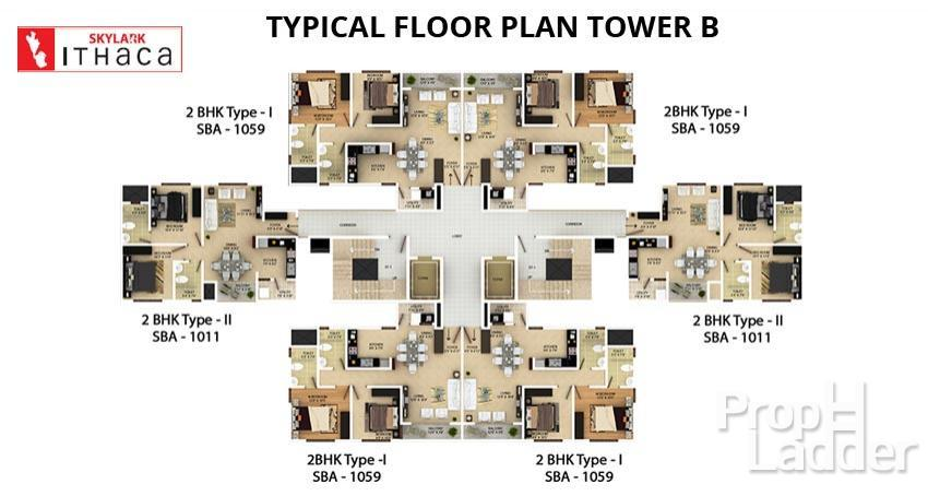 TYPICAL-FLOOR-PLAN-TOWER-B