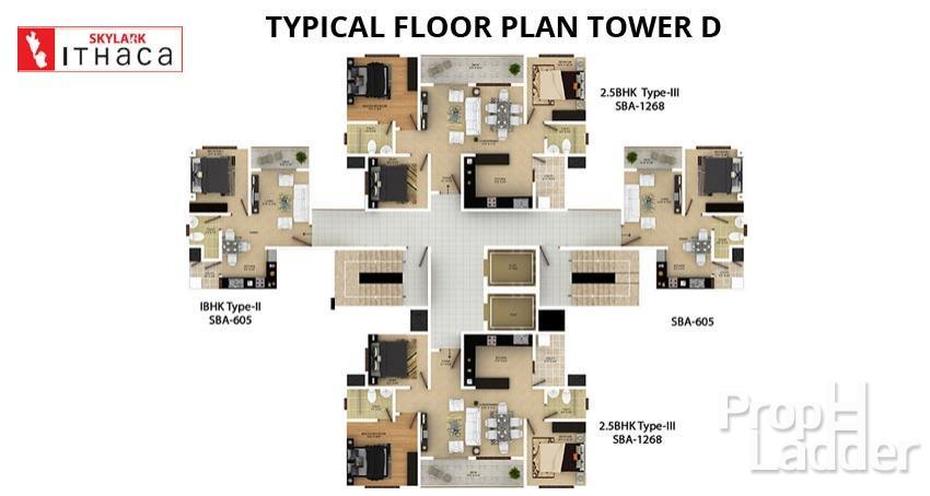 TYPICAL-FLOOR-PLAN-TOWER-D