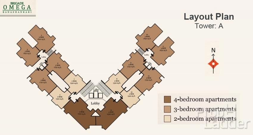 layout-plan-tower-A