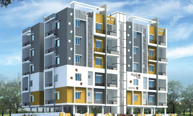 2,3 BHK Apartments for sale in Puppalaguda Hyderabad at MAPLE TREE