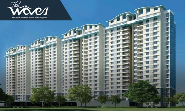 2,3 BHK Apartments for sale in Hennur Bengaluru at Purva The Waves