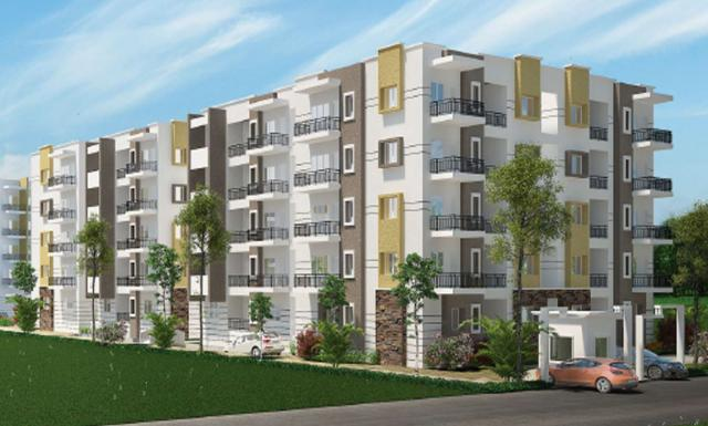2,3 BHK Apartments for sale in White Field Bengaluru at Sraddha White Cliff