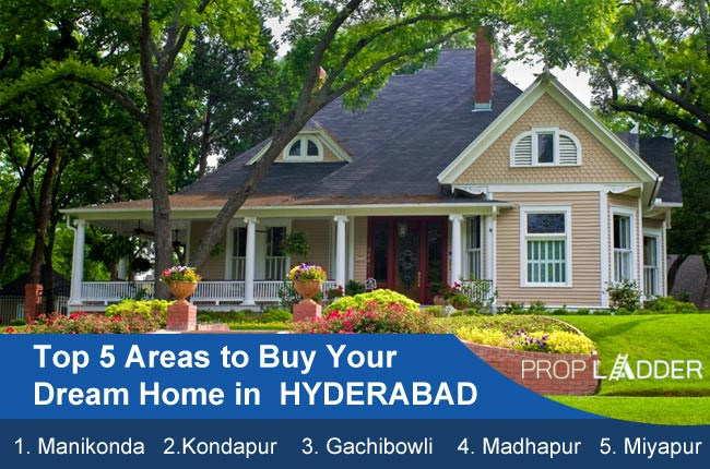 Top 5 areas to Buy your Dream Home in Hyderabad