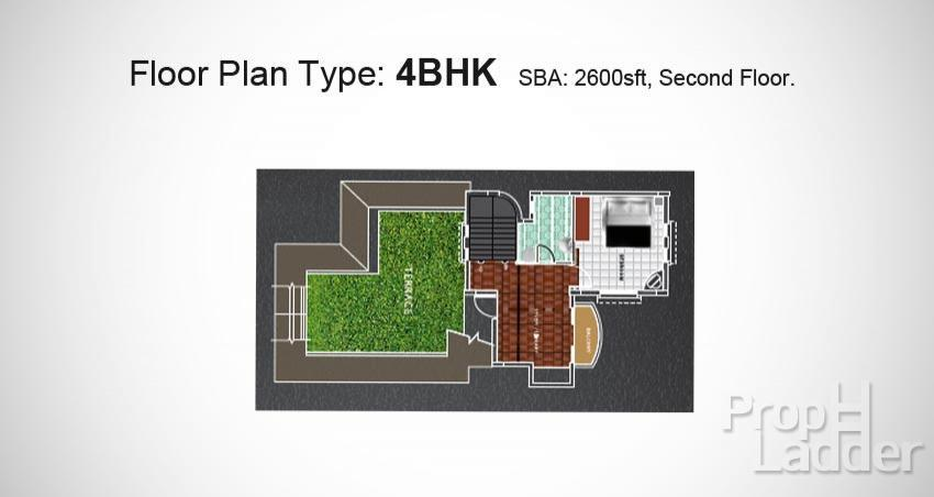 Secound Floor Plan