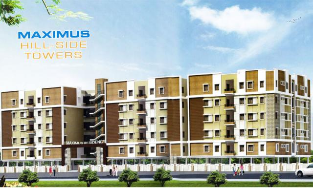2,3bhk Apartments for Sale in Miyapur Miyapur at Maximus Hall-Side Towers