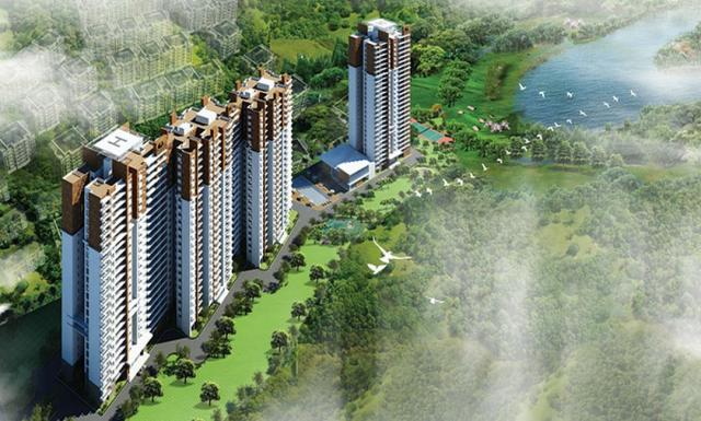 2,3,4bhk Apartments for Sale in Hebbal Hebbal at Prestige Misty Waters