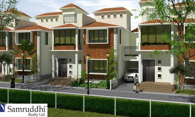 4bhk Villa for Sale in Old Madras Road Old Madras Road at SAMRUDDHI LAKE DRIVE