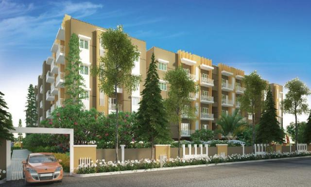 2,3bhk Apartments for Sale in Kr Puram Kr Puram at Sraddha Lakefront