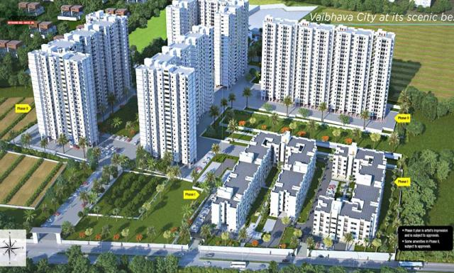 1,2bhk Apartments for Sale in Mysore Road Mysore Road at VBHC Palm Haven